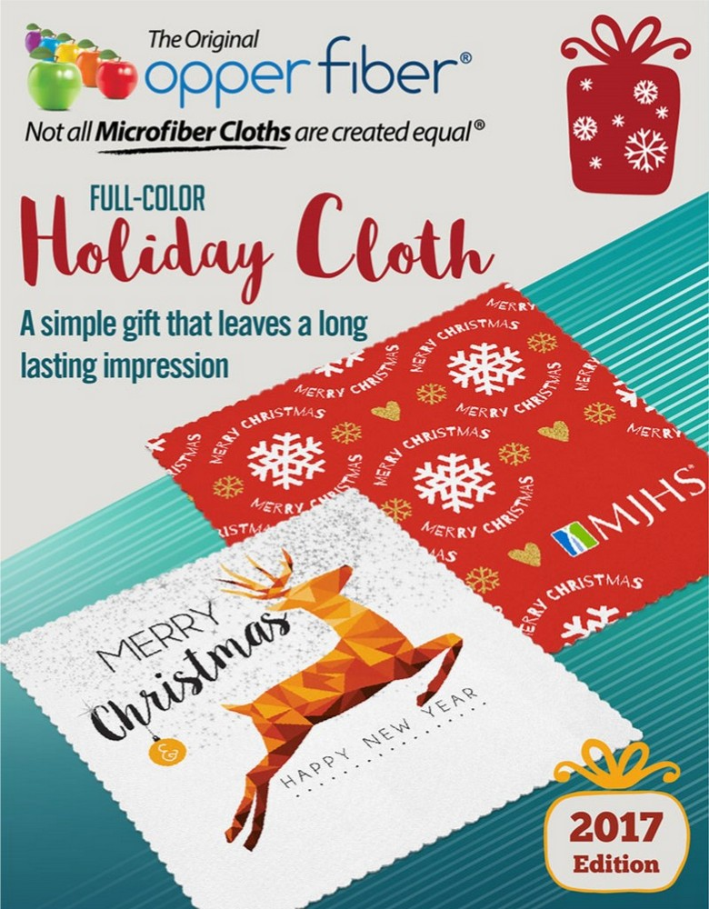 Holiday Microfiber Cloths